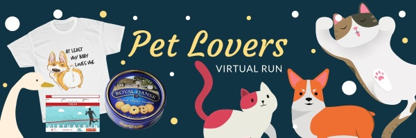 My Pet Loves Me Virtual Race registration logo