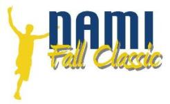 NAMI Fall Classic 5K Run/Walk for Mental Illness Awareness registration logo