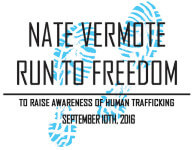 Nate Vermote Run to Freedom 5K/Walk registration logo