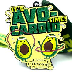 National Avocado Day 1M 5K 10K 13.1 26.2 registration logo
