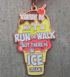 National Ice Cream Day 5K registration logo