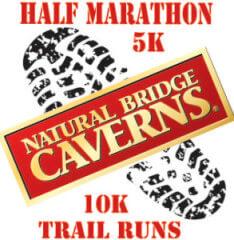 Natural Bridge Caverns Trail Run registration logo