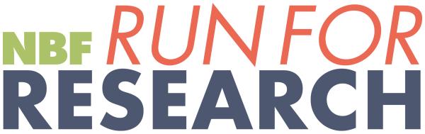NBF Run for Research registration logo