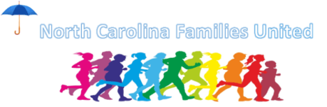 NC Families United 5k Fun Run/Walk registration logo