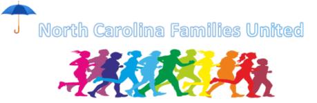 NC Families United 5k Fun Run/Walk registration logo