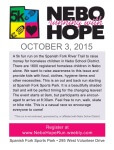 Nebo Running With Hope registration logo