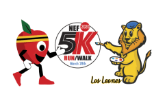 NEF 5k registration logo
