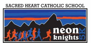 NEON 5Knights and 1 Mile Fun Run registration logo