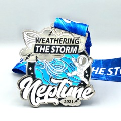 Neptune - Weathering the Storm - Running and Walking Challenge registration logo