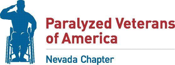 Nevada Paralyzed Veterans of America Virtual Walk, Run & Roll registration logo
