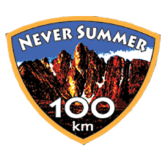 Never Summer 100k & 60k registration logo