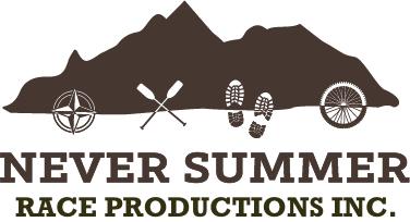 Never Summer Adventure Race registration logo