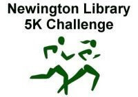 Newington Library 5K Challenge registration logo