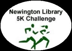 Newington Library 5K Challenge registration logo