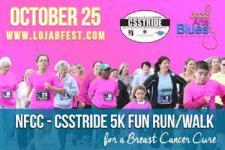 NFCC CSSTRIDE 5K Fun Walk Run for a Breast Cancer Cure registration logo