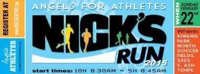 Nick's Run registration logo