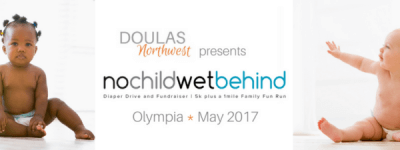 No Child Wet Behind -OLYMPIA- 5K Race and 1 mi Family Fun Run registration logo