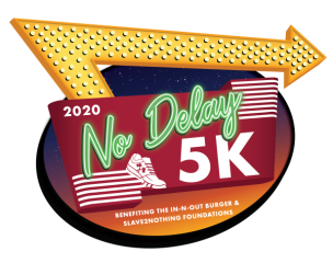 No Delay 5K Virtual Run/Walk registration logo