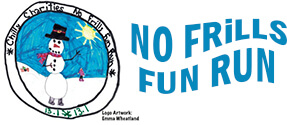 No Frills Fun Run registration logo