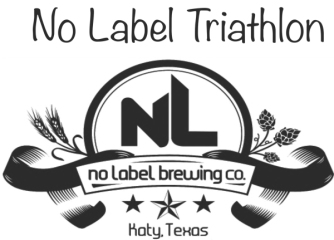No Label Triathlon registration logo