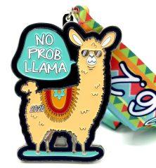 No Prob Llama 1M 5K 10K 13.1 26.2 registration logo