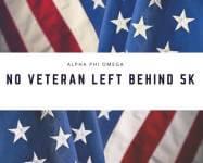 No Veteran Left Behind 5K registration logo