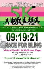 Norma E. Boyd 5K Race for Education registration logo