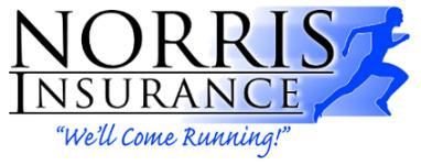 Norris Insurance - Converse 5K registration logo