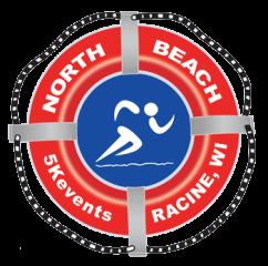North Beach 5K - Racine registration logo