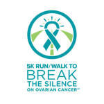 Northern VA Chapter's 14th Annual 5K Run/Walk to Break the Silence on Ovarian Cancer  registration logo