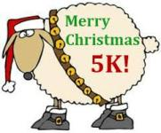 North lake Christmas 5k registration logo