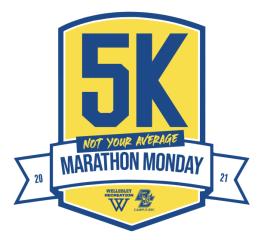 Not Your Average Marathon Monday registration logo