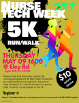 Nurse/Tech wk 5K registration logo