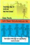 Oak Park 5k registration logo