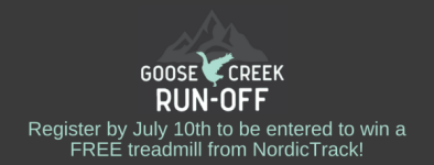 Oakley Goose Creek Run-off registration logo
