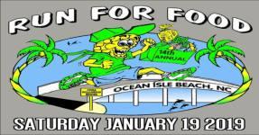 Ocean Isle Beach Bridge - Run for Food 1/2 Marathon 10K & 5K registration logo