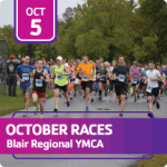 October Half-Marathon & Distance Races registration logo