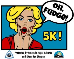 Oh, Fudge 5K registration logo