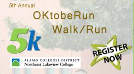 OKtobeRun 5k registration logo