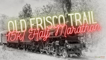 Old Frisco Trial Half Marathon/15K- Poteau Oklahoma registration logo