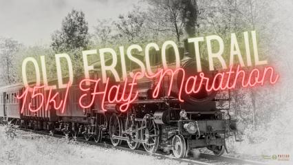 Old Frisco Trail Half Marathon/15K- Poteau Oklahoma registration logo
