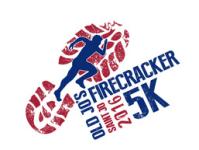 Old Jo's Firecracker 5k registration logo