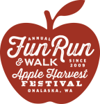 Onalaska Apple Fun Run/Walk registration logo