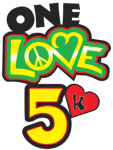 One Love 5k registration logo