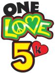 One Love 5k registration logo
