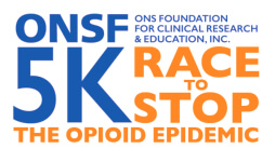 ONSF 5K Race to Stop the Opioid Epidemic registration logo