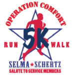 Selma / Schertz Salute to Service Members 5K registration logo