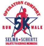 Selma / Schertz Salute to Service Members 5K registration logo
