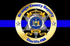 Orange County Deputy Sheriff's PBA 5K registration logo