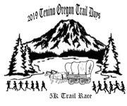 Oregon Trail Days 5K Trail race registration logo